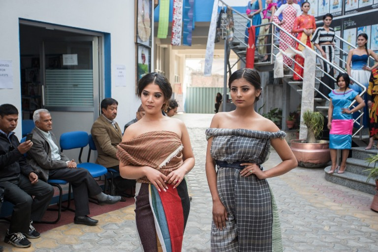 Ncft Hosts Gratitude And Hope Fashion Show Corporate Nepal